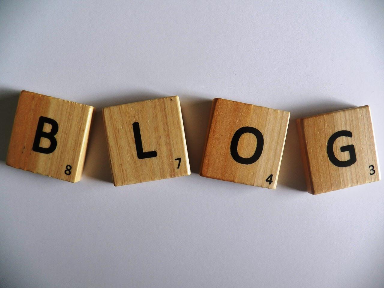 Blog cubes